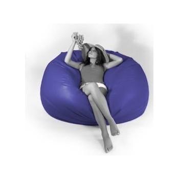 Sedací vak veľká guľa fialová EMI