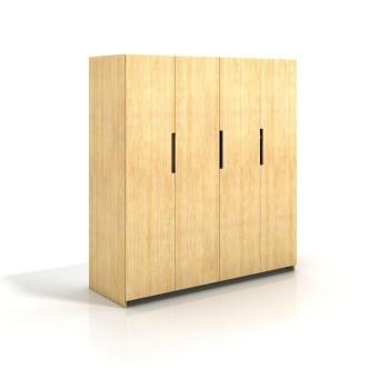 Šatníkova skriňa borovicová 4D Bergman - Visby