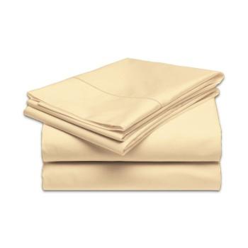 plachta posteľná krémová pevná EMI