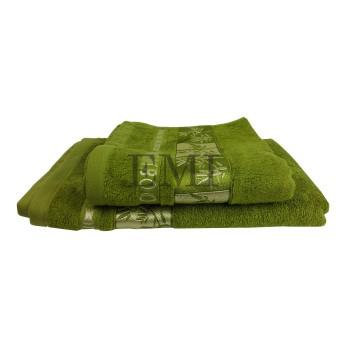Uterák bambo zelený 2 50x90 cm EMI