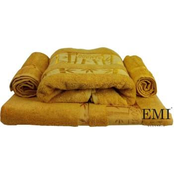 Uteráčik bambo žltý 30x50 cm EMI