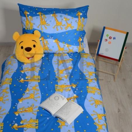 Obliečky detské žirafy modré EMI