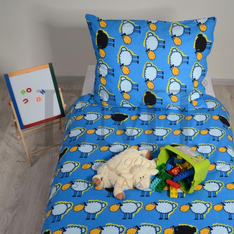 detske obliecky modre