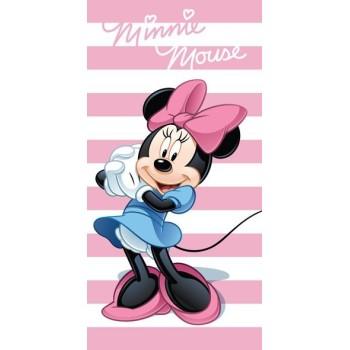 Osuška Minnie pásikovaná, 70 x 140 cm