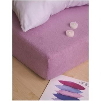 Plachta posteľná fialová froté EMI