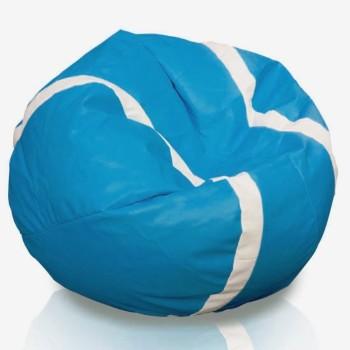 Sedací vak tenisová lopta modrá