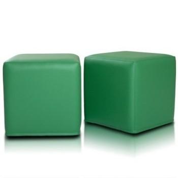 Sedací vak taburetka zelená