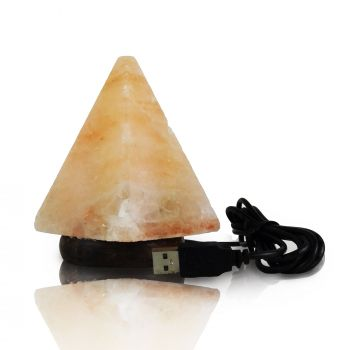 Soľná lampa USB pyramída