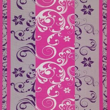 Látka metráž bavlna 100% Don Lilien ružovo-fialové CNM