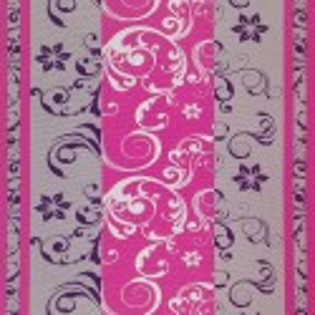 Látka metráž bavlna 100 % Don Lilien ružovo-fialové CNM