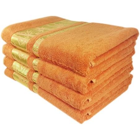 Osuška bambusová tehlová 70 x 140 cm EMI