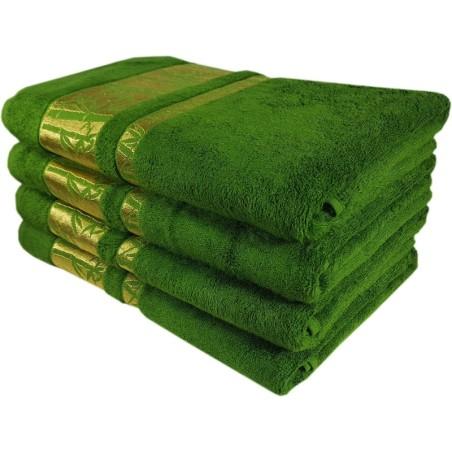 Osuška bambusová zelená 70x140cm EMI