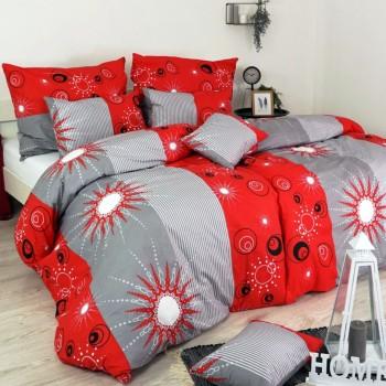 Obliečky bavlnené Tilia červené EMI