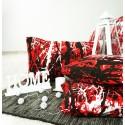 Obliečky Ema červenočierne EMI