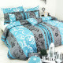 postelne obliecky tyrkysové