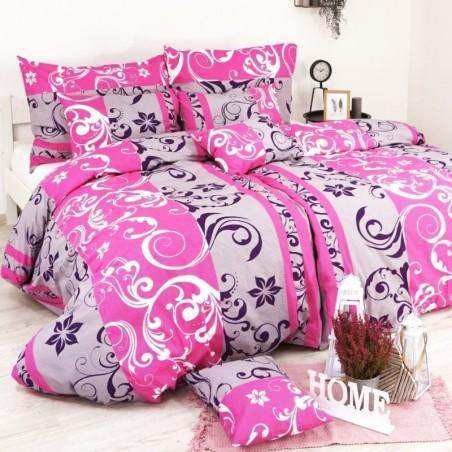 Obliečky Lilien ružovo-fialové EMI