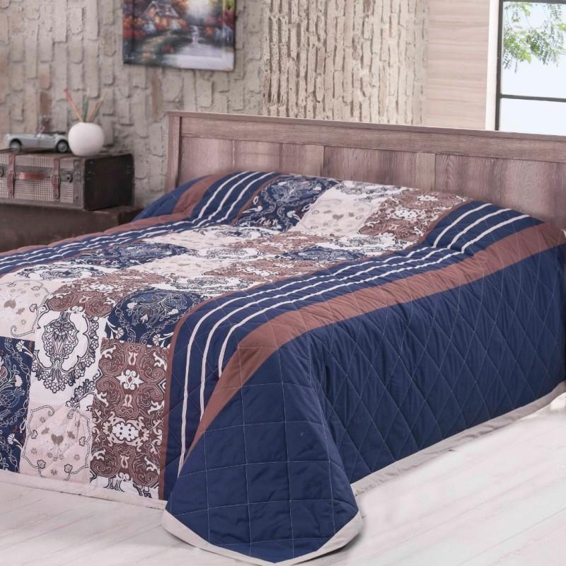 Prehoz na posteľ Paolina modrý Night In Colours
