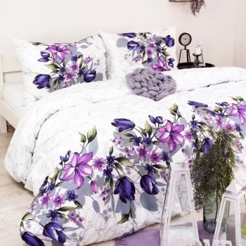 bavlnené obliečky Riella lila EMI