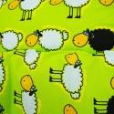 Obliečky detské bavlnené ovečky zelené EMI