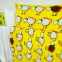 Obliečky detské ovečky žlté EMI