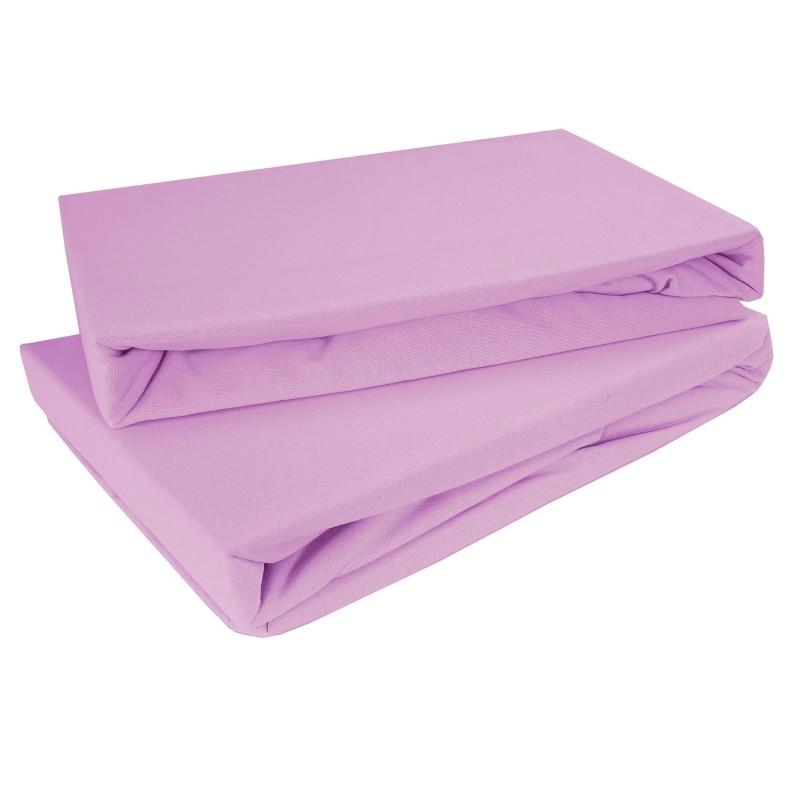 Plachta posteľná svetlofialová jersey EMI
