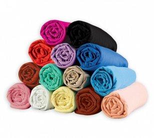 Pevné bavlnené posteľné plachty