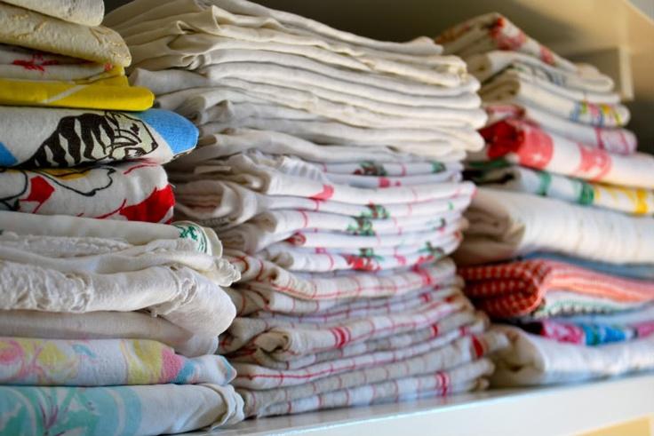 Skladovanie bavlnených obliečok