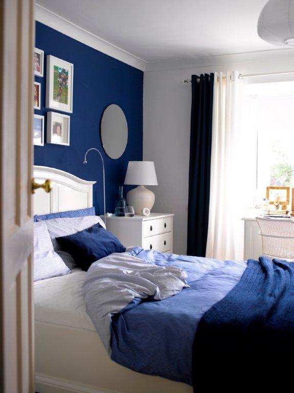 Modrá spálňa