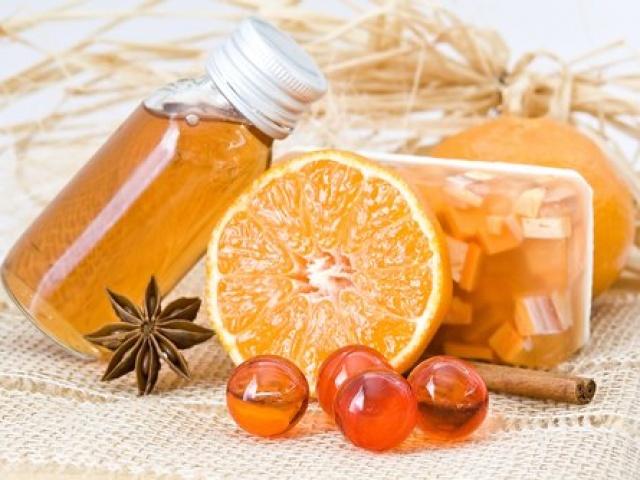 pomarančový éterický olej