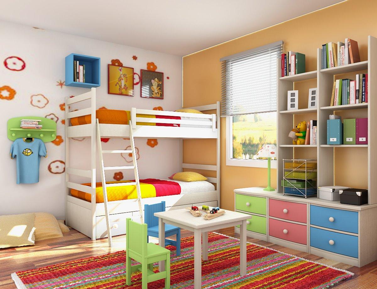 detské obliečky farebné