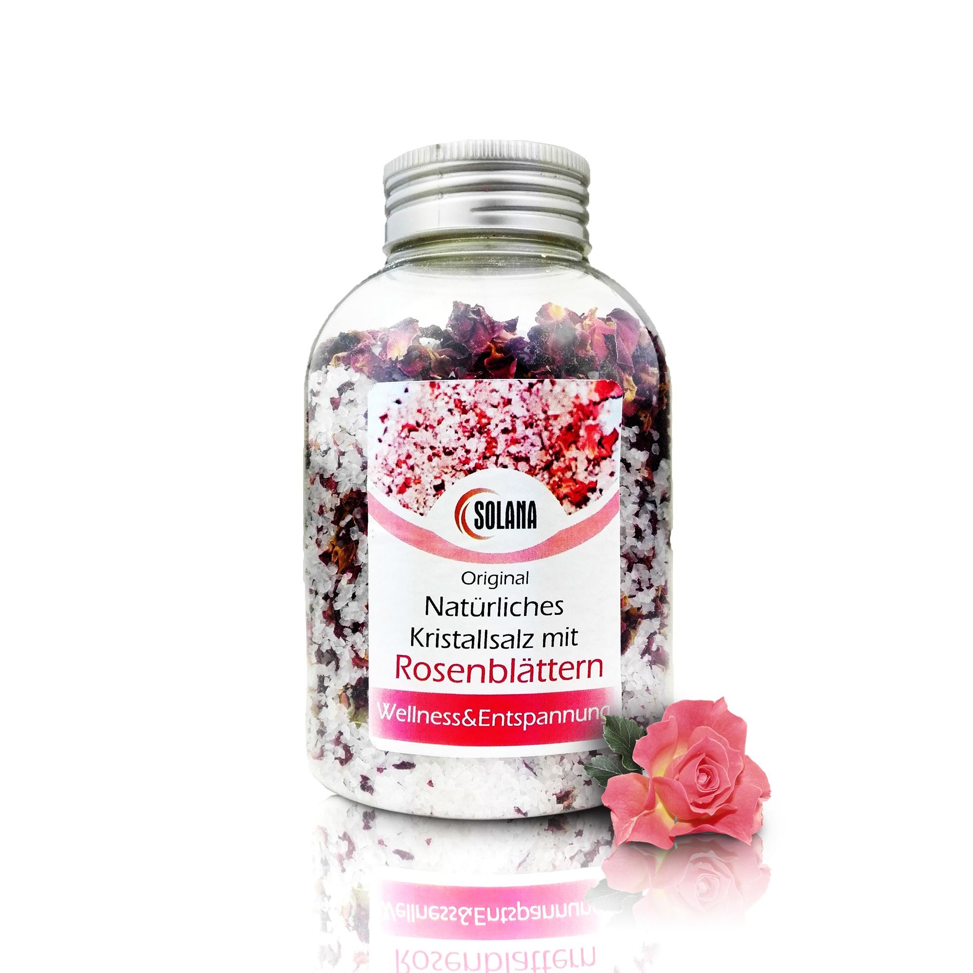 sol do kupela lupene ruží