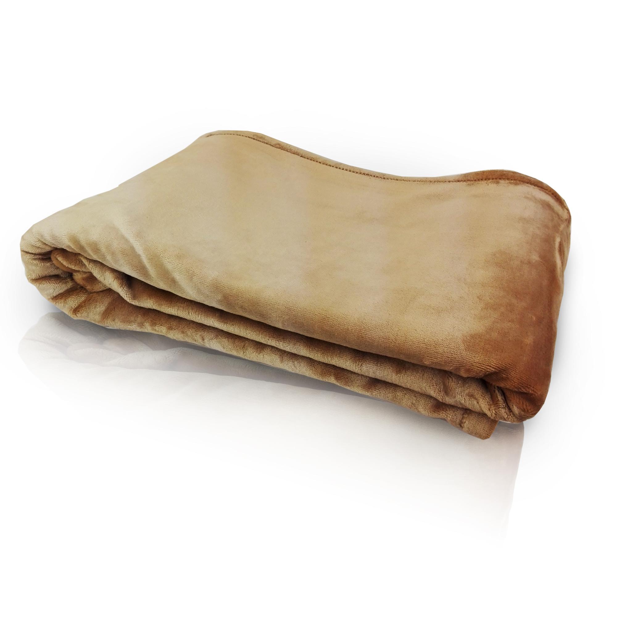 deka hnedá 150x200 cm EMI