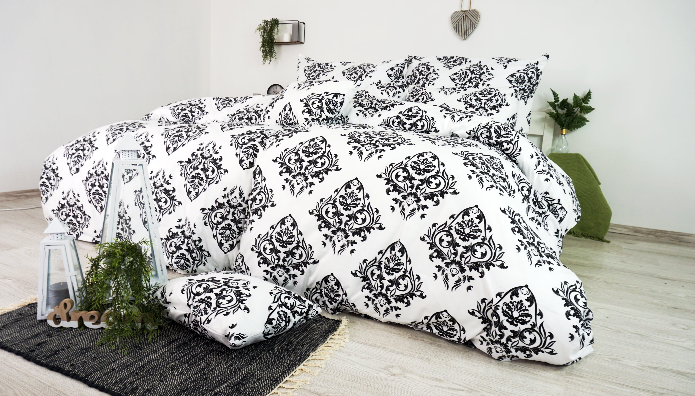 biele postelne obliecky