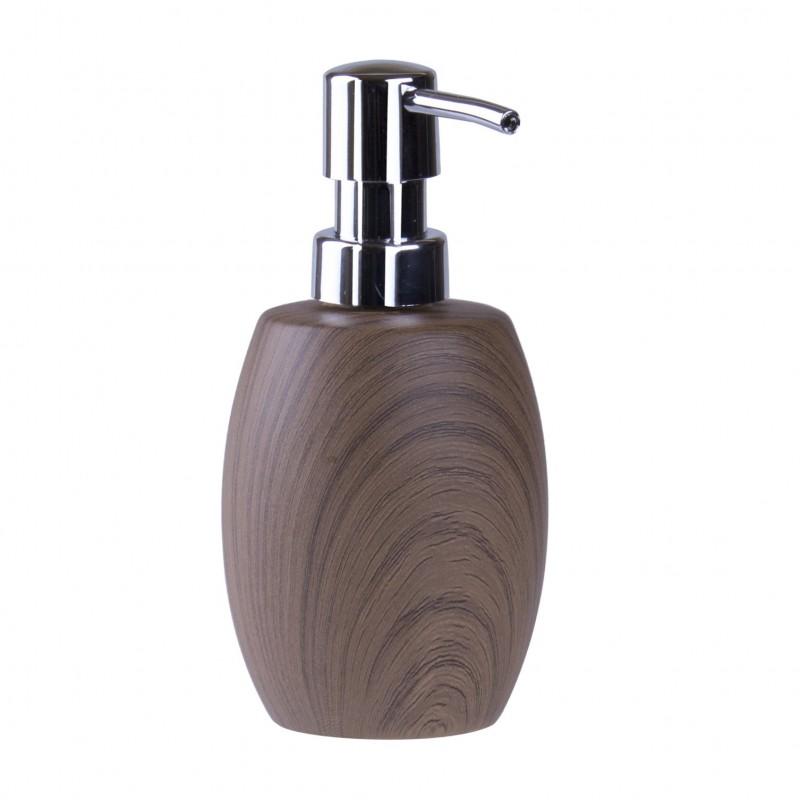 Dávkovač na mydlo s imitáciou dreva