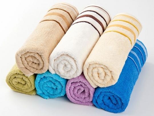 Bavlnené uteráky a osušky