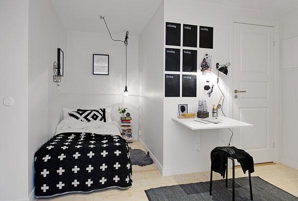 Malá spálňa inšpirácia