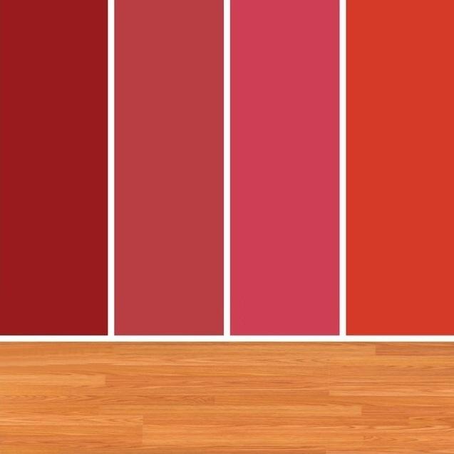 červená paleta farieb
