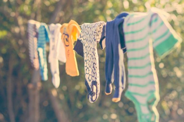 Pranie detského oblečenia