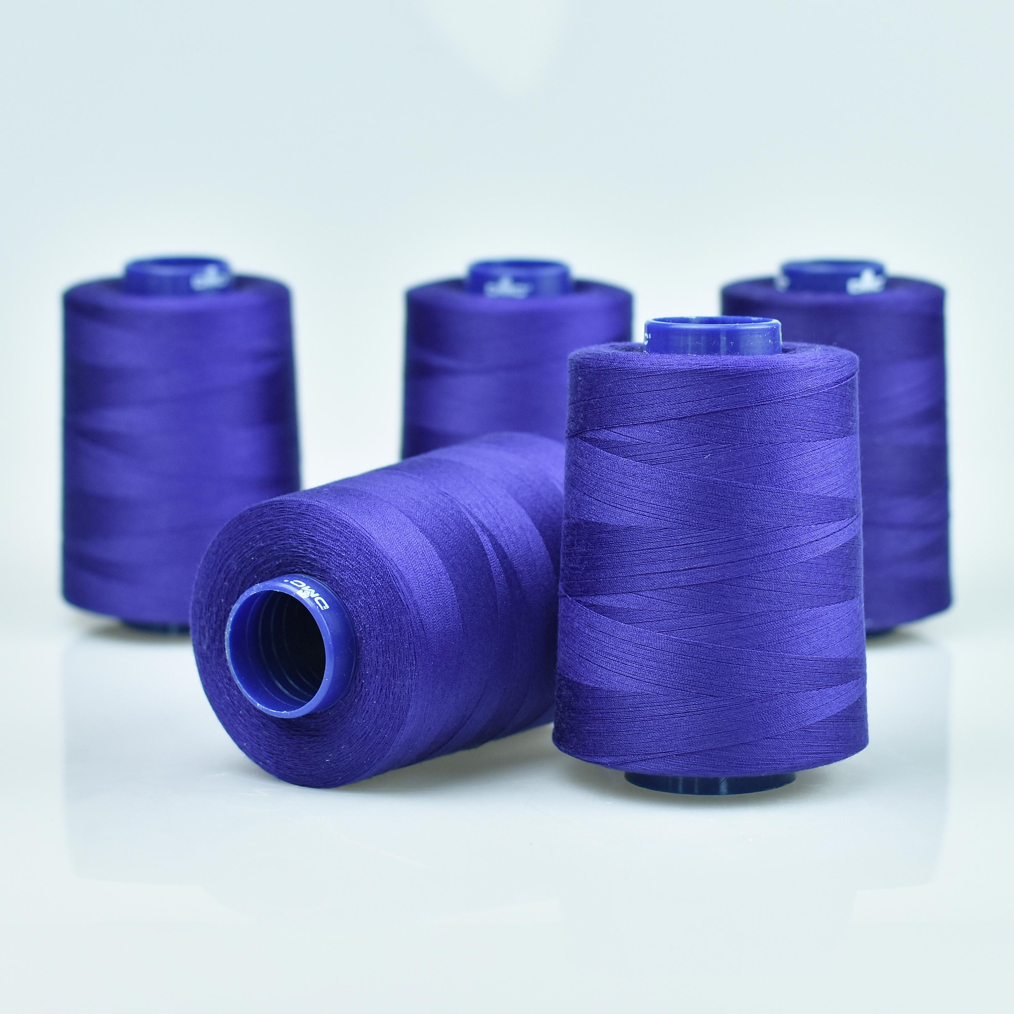 modrá niť na ručné aj strojové šitie