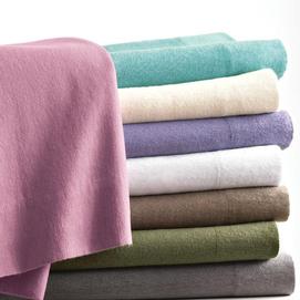 Flanelové posteľné plachty