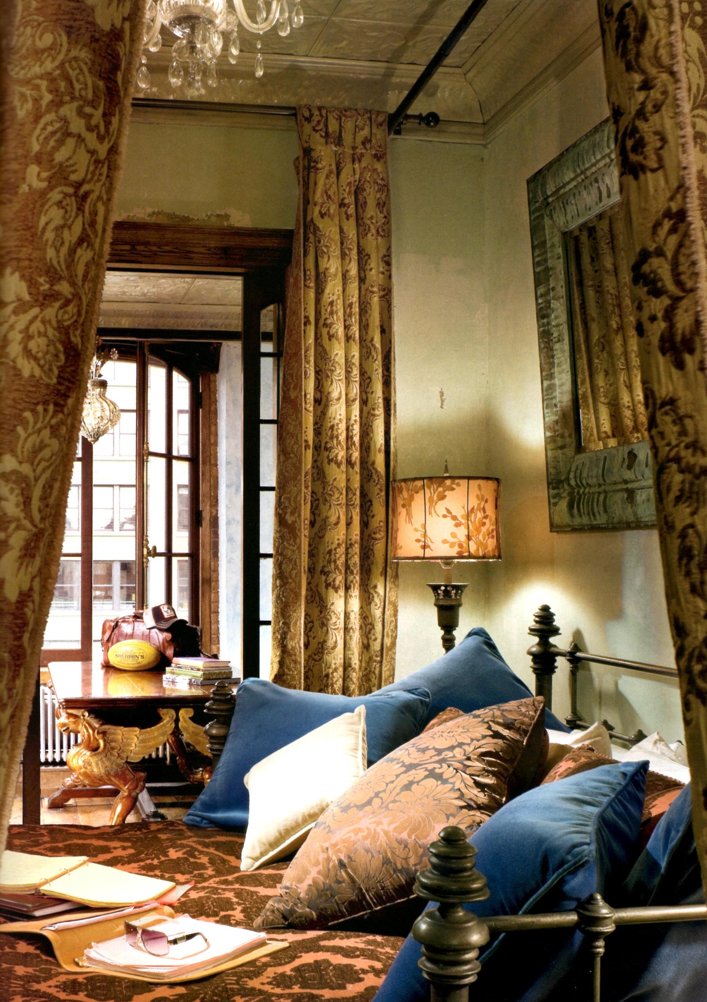 Gerard Butler spálňa