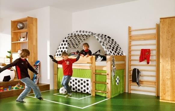 Futbalová detská izba