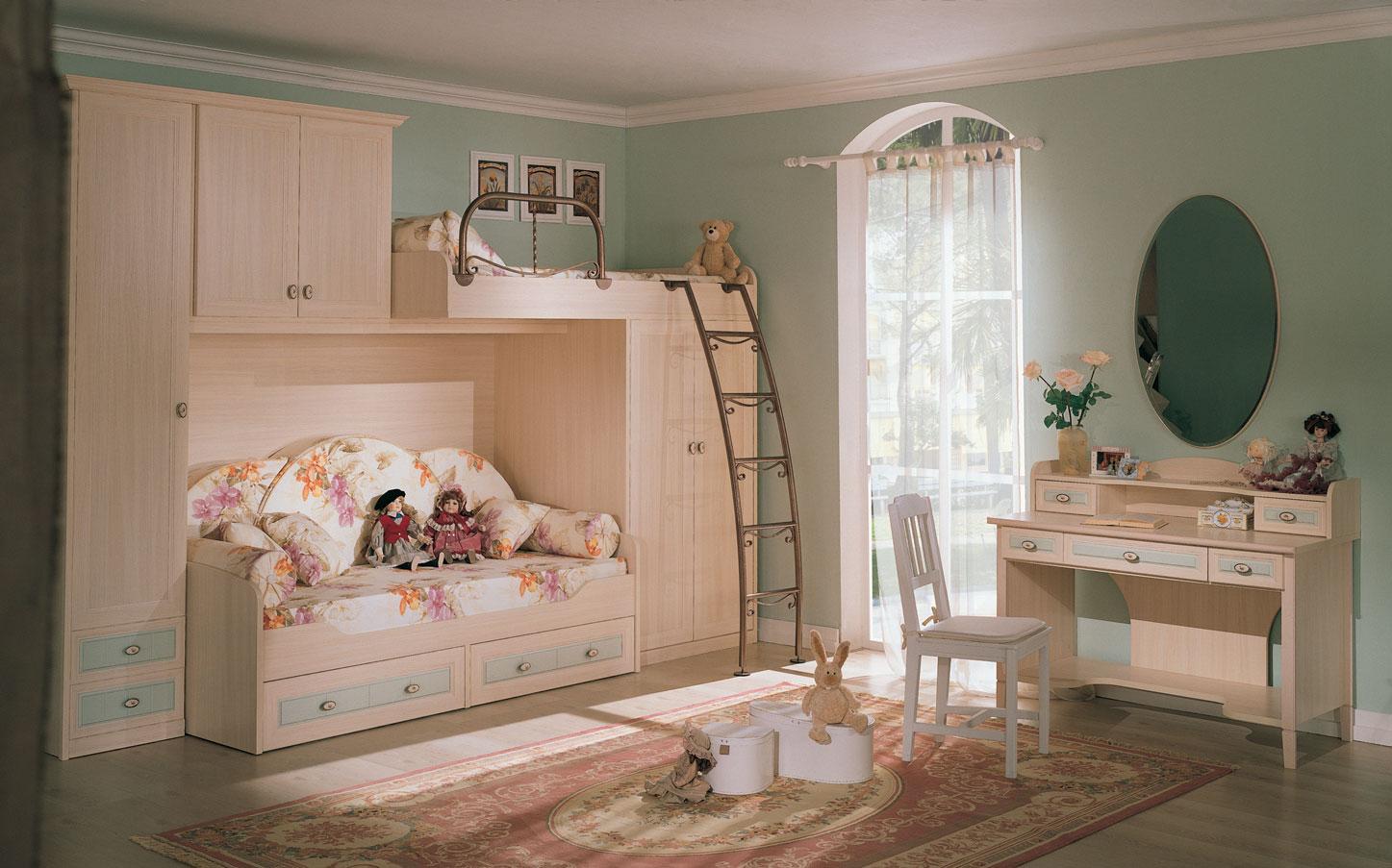 Detská izba zariadená podľa feng suej
