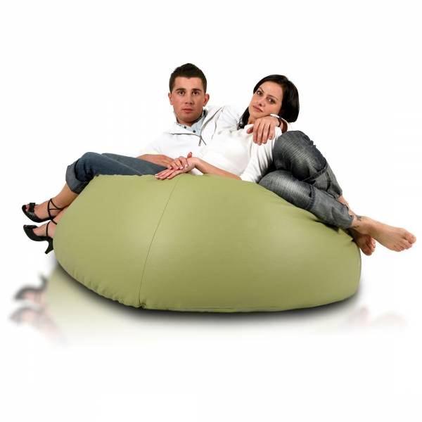 zelený sedaci vak