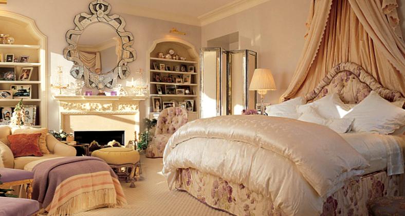 Mariah Carey spálňa