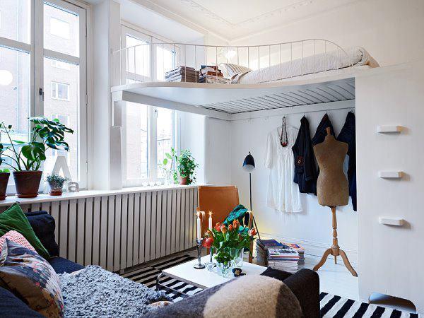 Malá spálňa inšpirácia 5