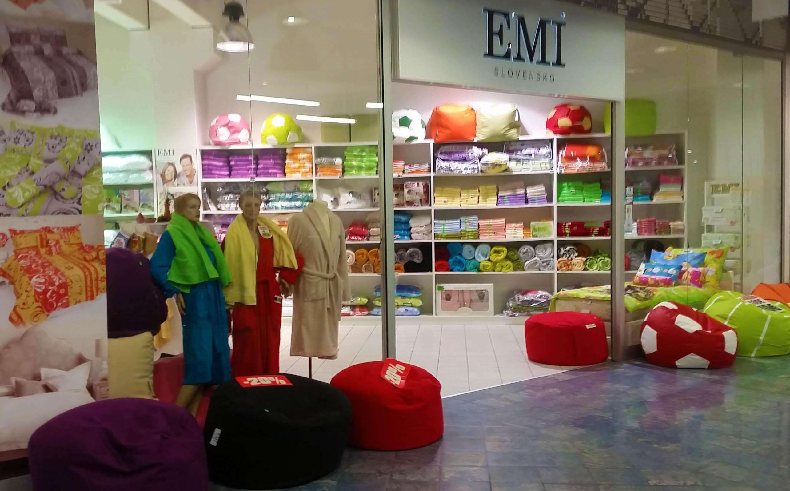 Predajňa EMI v Žiline