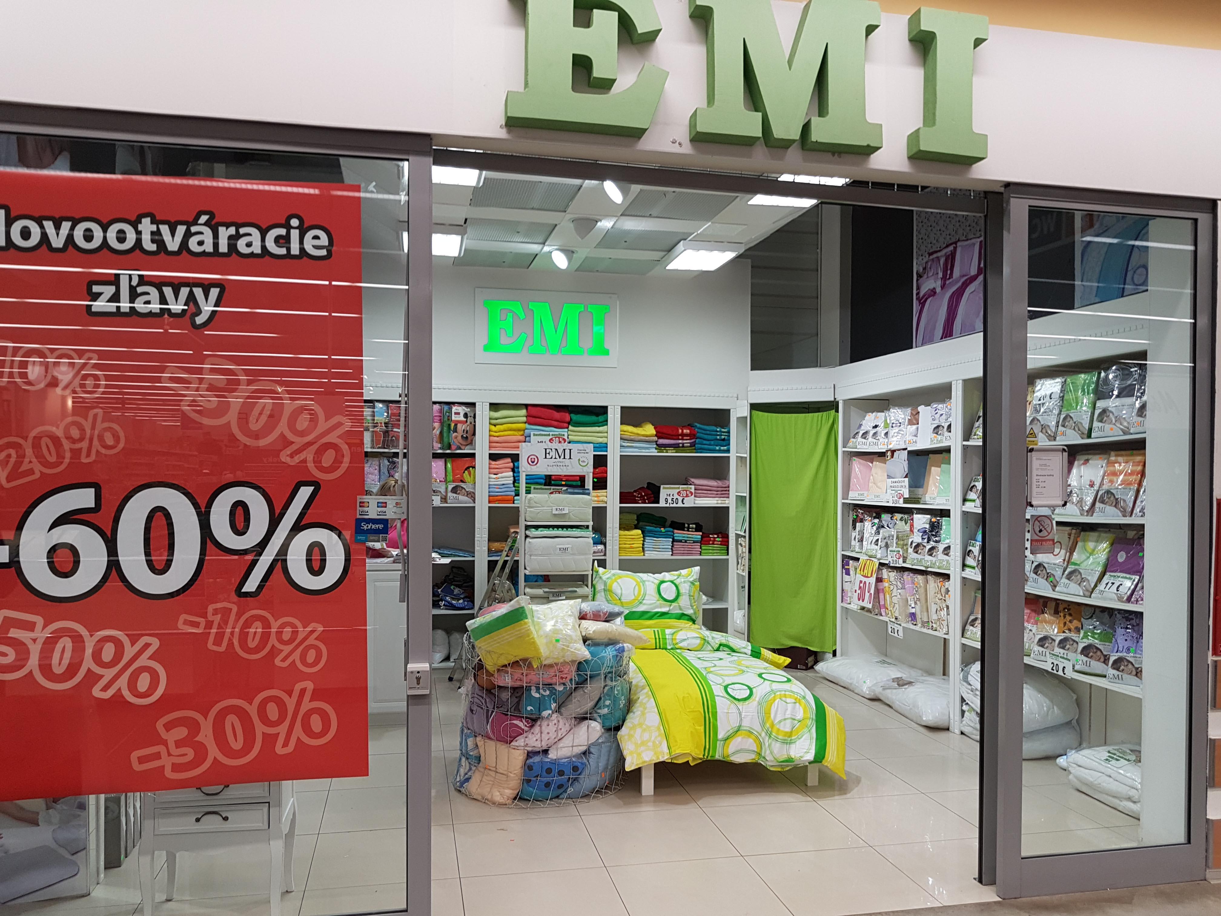 Predajňa EMI