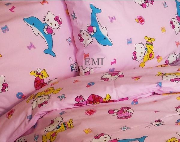 posteľné obliečky Hello Kitty pre deti