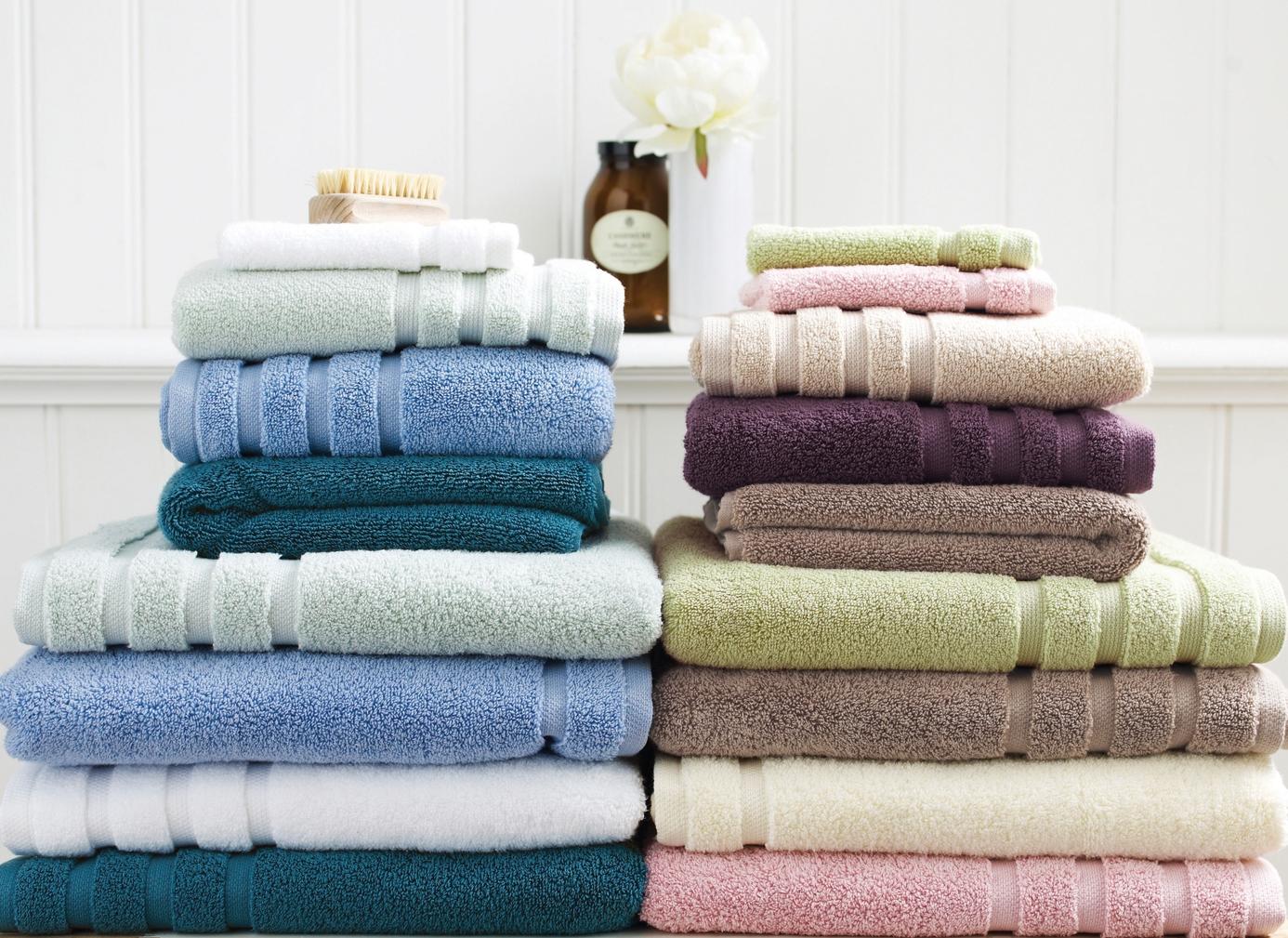 Správna veľkosť uterákov a osušiek